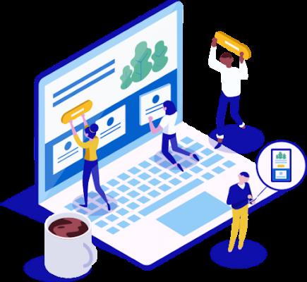 designing site